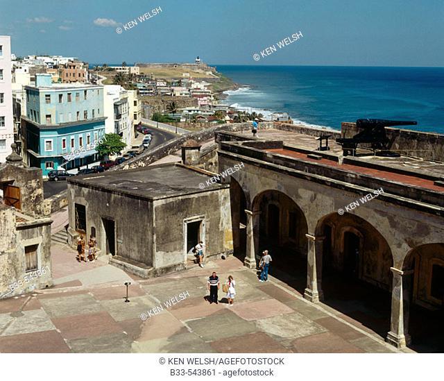 San Cristóbal Fort. Old San Juan. Puerto Rico