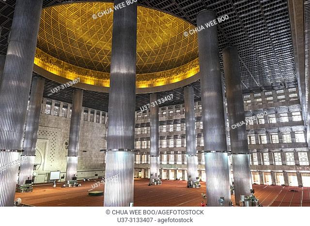 Istiqlal Mosque, Jakarta, Indonesia, Asia