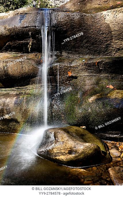 French Broad River near Living Waters - Balsam Grove, North Carolina USA