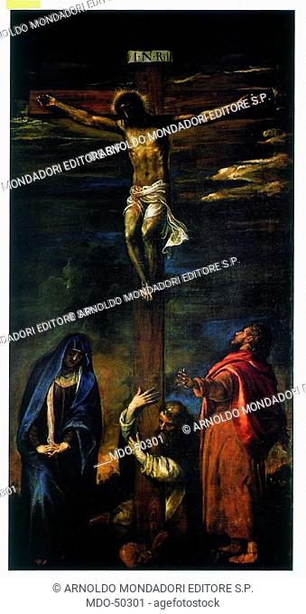 Christ on the cross with the Virgin, Saint John and Saint Dominic (Cristo in croce con la Vergine, san Giovanni e san Domenico)