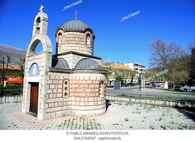 Orthodox temple in Trebinje, Bosnia and Herzegovina