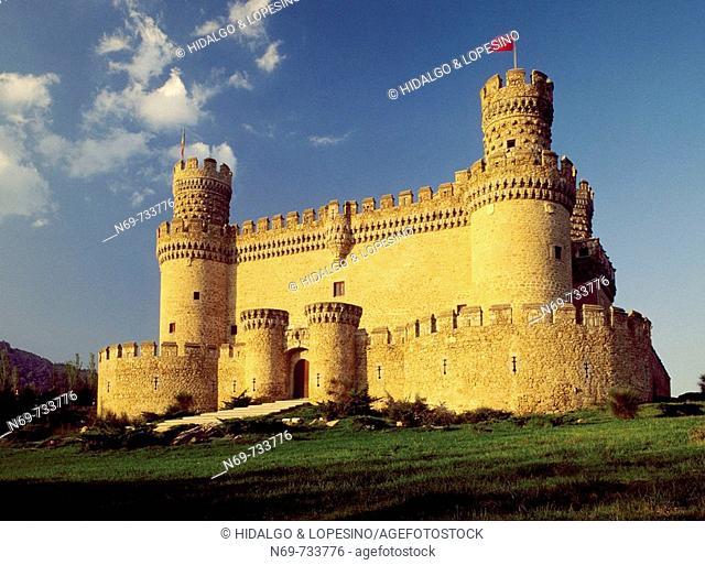 Castle of Manzanares el Real. Madrid. Spain