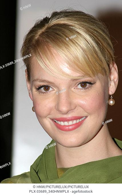 Katherine Heigl 12/14/05 THE RINGER @ DGA, Hollywood photo by Jun Matsuda/HNW / PictureLux (December 14, 2005) File Reference # 33689-340HNWPLX