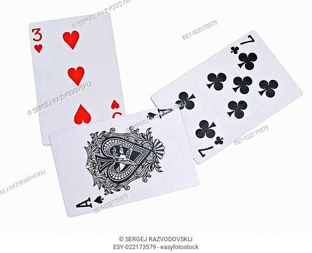 Three, seven, ace