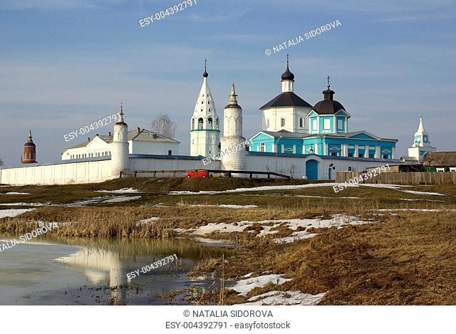 Bobrenev Russian Orthodox monastery in Kolomna