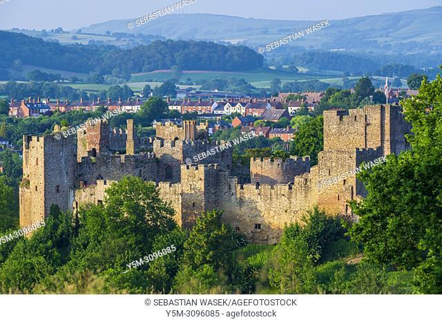Ludlow Castle, Shropshire, England, United Kingdom, Europe