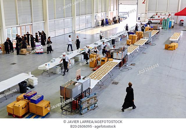 Chefs. Dining room for 1,500 people. Ficoba, Basque Coast International Fair. Irun. Gipuzkoa. Basque Country. Spain