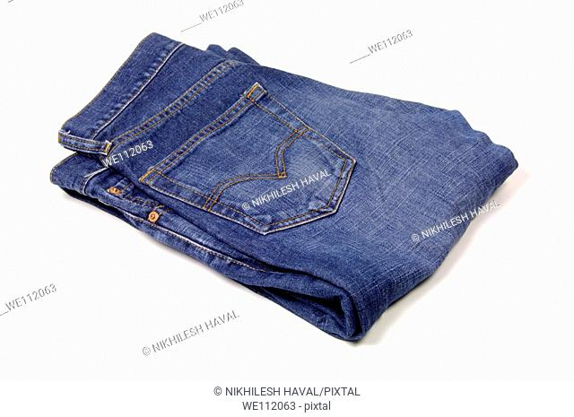 Pair of blue jeans