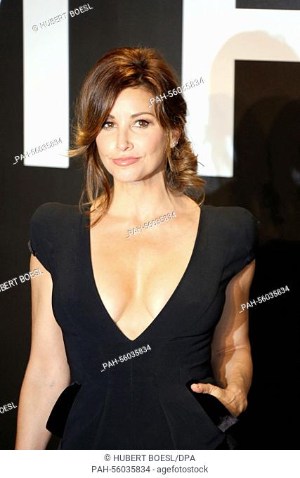 5ab910a0301 Actress Gina Gershon arrives at the Tom Ford Autumn/Winter 2015 Womenswear Collection  Presentation at