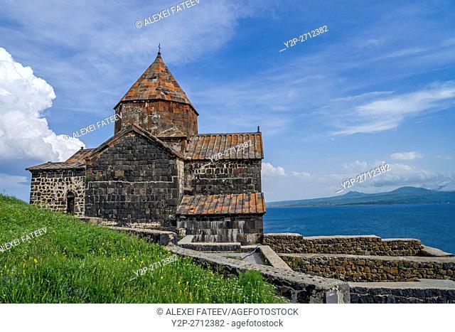 Surb Astvatsatsin church at Sevanavank monastery in Armenia