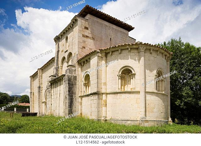 Siones de Mena  Saint Mary Church, Burgos province, Castilla-León, Spain