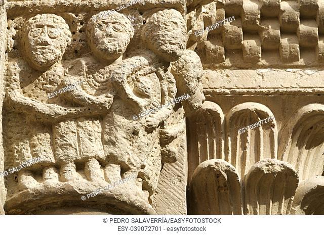 Cistercian Veruela Monastery in Zaragoza, Aragon, Spain