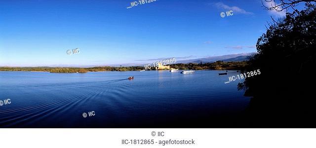 Ross Castle, Lough Leane, Killarney National Park, Co Kerry, Ireland