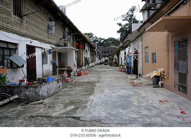 Tsang's house at Shatin, Hong Kong