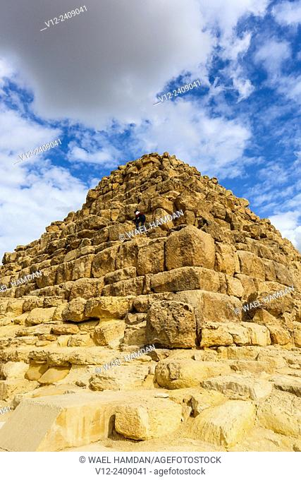 Pyramid of Queens, Giza, Egypt