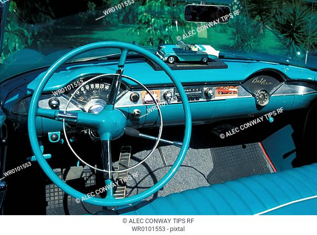 Chevrolet Bel Air convertible year 1956