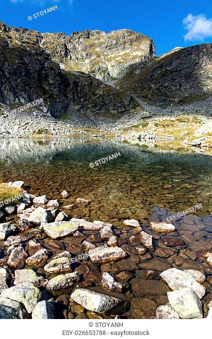 Amazing Landscape of Elenski lakes and Malyovitsa peak, Rila Mountain, Bulgaria