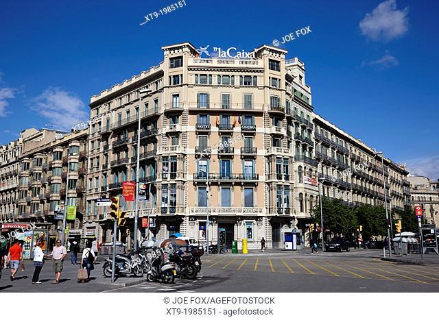 hotel ginebra eixample district barcelona catalonia spain
