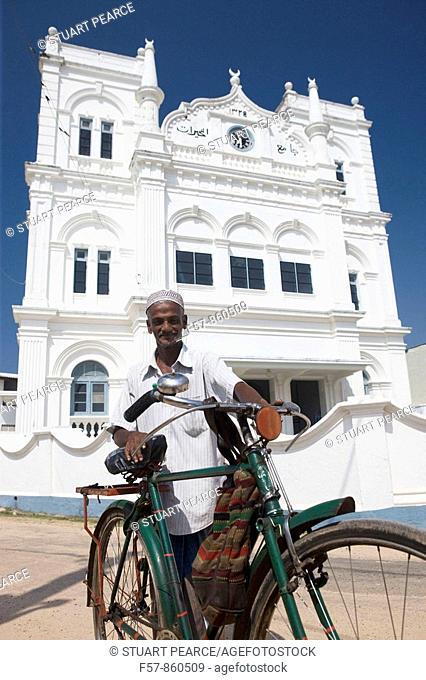 Muslin Mosque, Galle Fort, Sri Lanka
