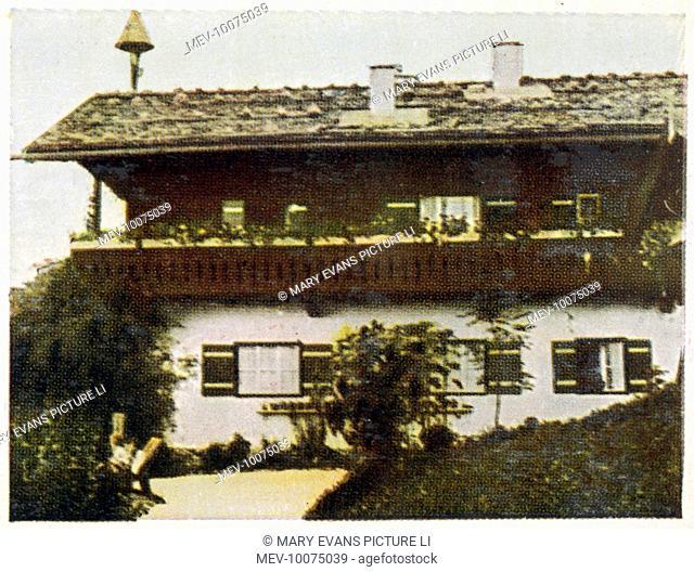 ADOLF HITLER Home at Berchtesgaden, Obersalzburg, exterior