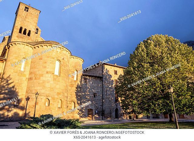 Monastery of Leire, Navarra, Spain