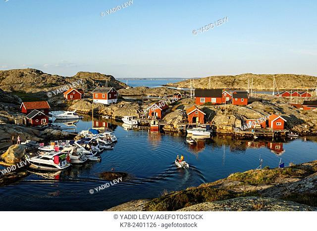 Vaderoarna, (The Weather Islands) archipelago, bohuslan region, west coast, Sweden