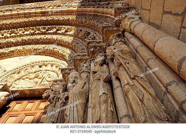 San Vicente Basilica. Main gate detail. Ávila, Community of Castilla-León, Spain, Europe