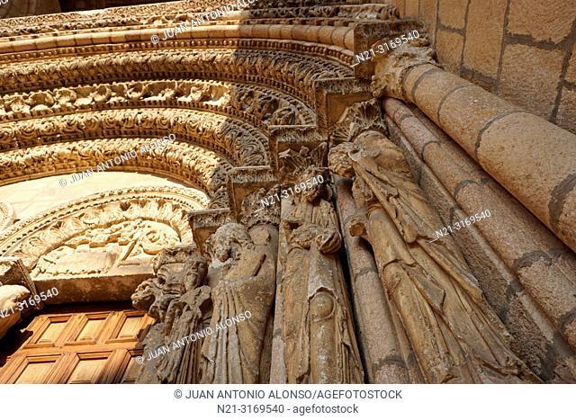San Vicente Basilica. Main gate detail. Ávila, Community of Castilla-León, Spain, Europe