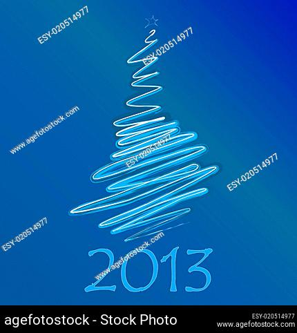 calendar to a new 2013 year