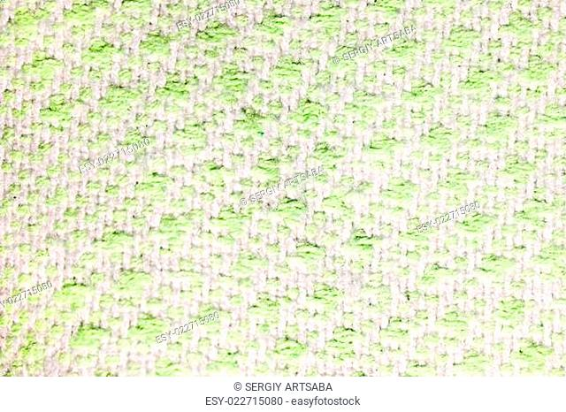 woolen fabric with color blotches