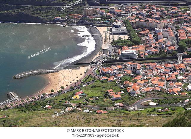 Machico on the east coast of Madeira