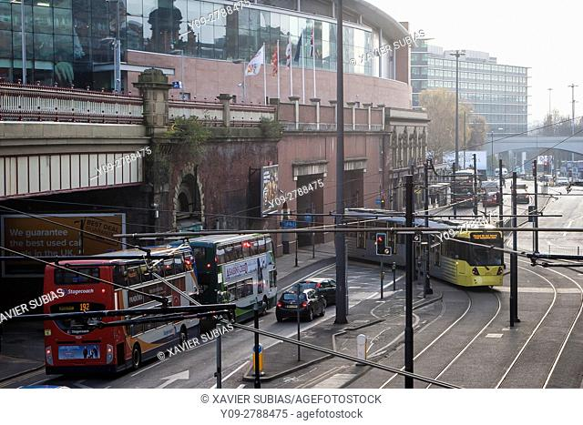 London Road, Manchester, England, United Kingdom