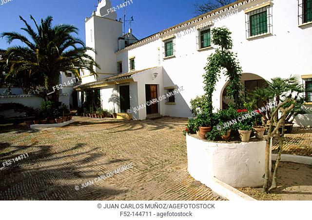 Doñana Palace in Doñana National Park. Huelva province. Andalucia, Spain