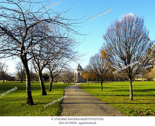 Burdett-Coutts Fountain - Victoria Park - London, England