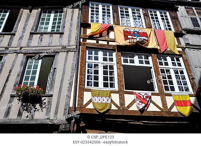 Medieval timber-framed building