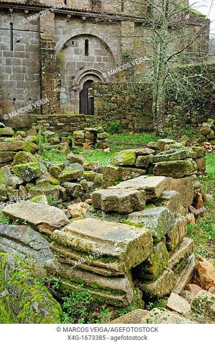Monastery of San Lourenzo de Carboeiro, Silleda, Galicia, Spain
