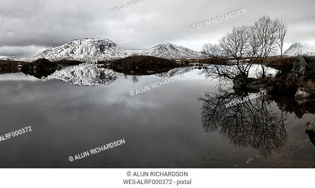 United Kingdom, Scotland, Glencoe, Rannoch Moor