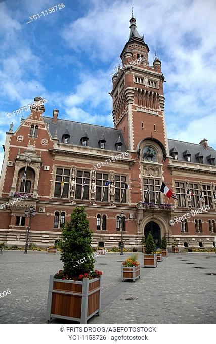 town hall, Dunkerque, France