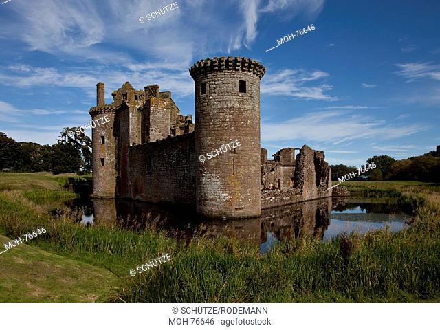 Caerlaverock Castle bei Dumfries