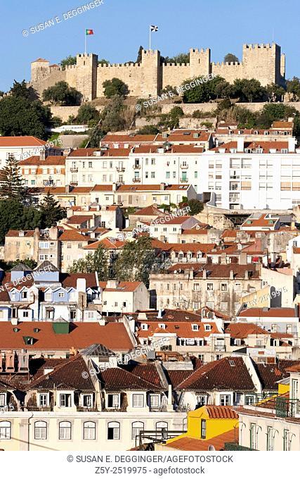 Castle de São Jorge, Lisbon Portugal