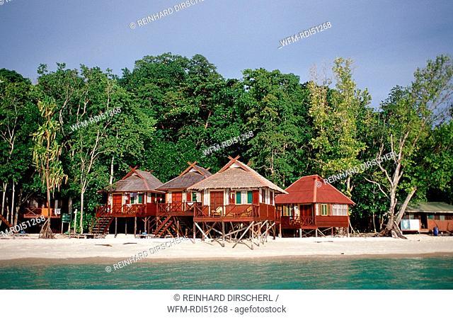 Sipadan Dive Resort, Borneo Sabah Sipadan, Malaysia