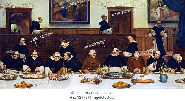 'Friday,' 1883, (1912). A colour print from Famous Paintings, with an Introduction by Gilbert Chesterton, Cassell and Company, (London, New York, Toronto, 1912)