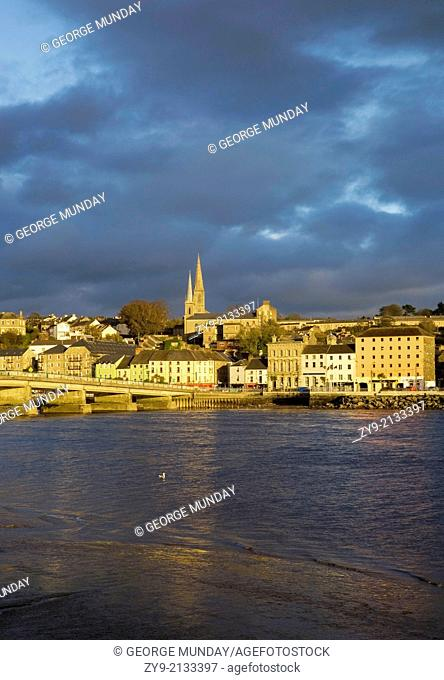 New Ross and River Barrow, County Wexford, Ireland