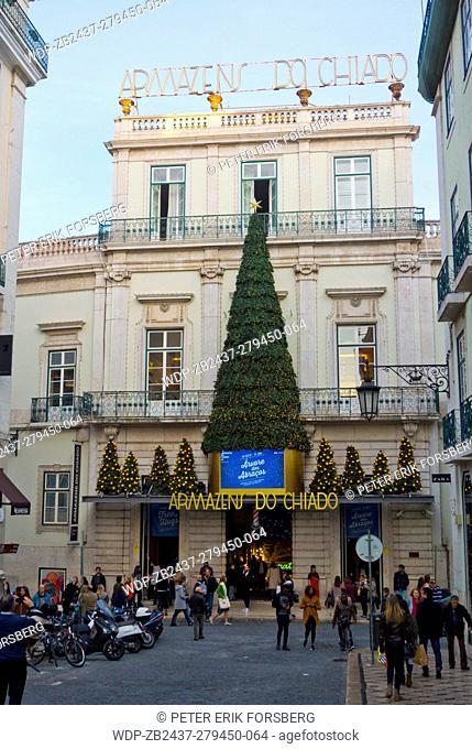 Armazens do Chiado, shopping centre, Chiado, Lisbon, Portugal