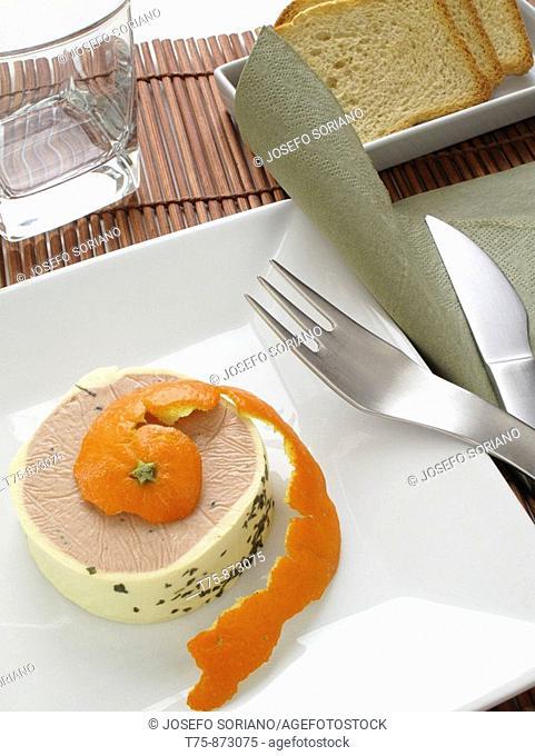 Foie to orange