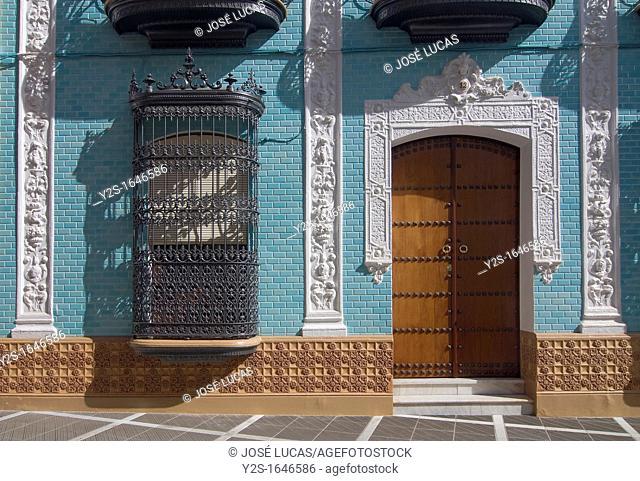 Manor house -Casa de las lositas-, Façade, Rociana del Condado, Huelva-province, Spain