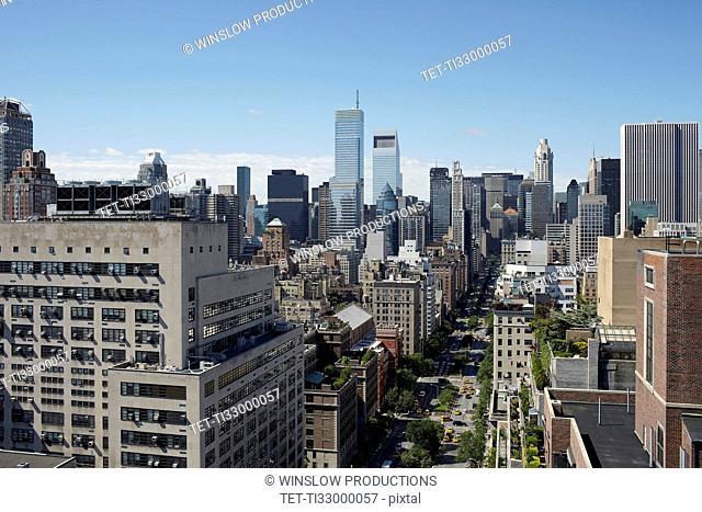 View to Manhattan
