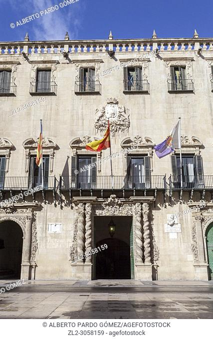 City Council of Alicante, Comunidad Valenciana, Spain