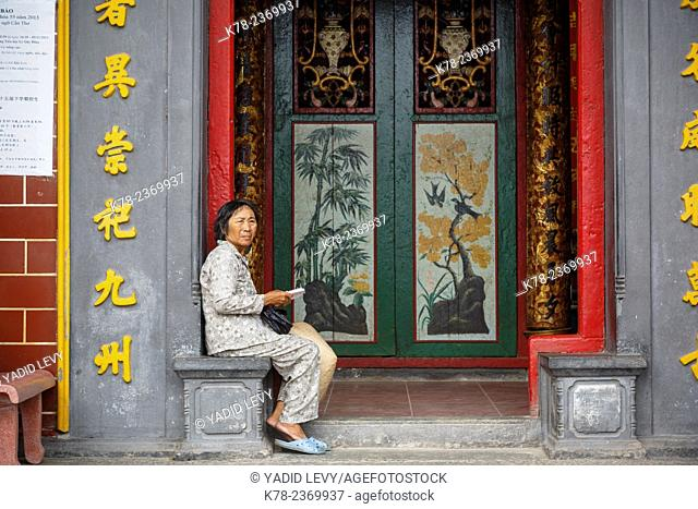Ong Temple, Can Tho, Mekong Delta, Vietnam