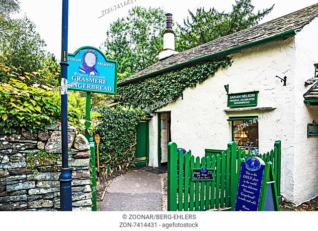 Sarah Nelson, The Grasmere Gingerbread Shop